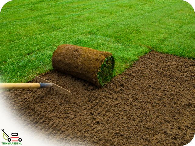 Tuinmaaien.nl - graszoden leggen